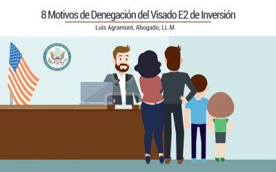 8 Motivos de Denegación del Visado E2 de Inversión
