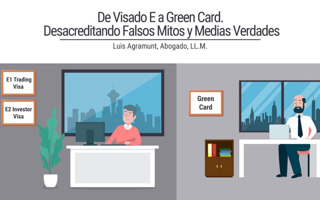 De Visado E a Green Card